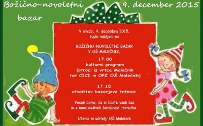 Božično-novoletni bazar