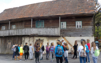 ŠOLA V NARAVI 8. razred – dom Škorpijon