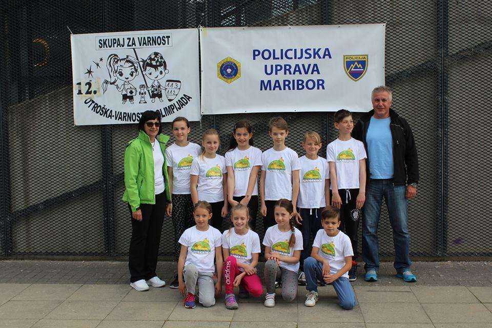 5. predtekmovanje 12. Otroške varnostne olimpijade
