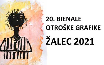 NAGRAJENCI 20. BIENALA OTROŠKE GRAFIKE – ŽALEC 2021